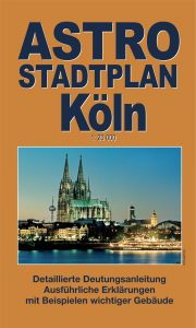 Astrological Town Plan Cologne, astrology and astrogeography